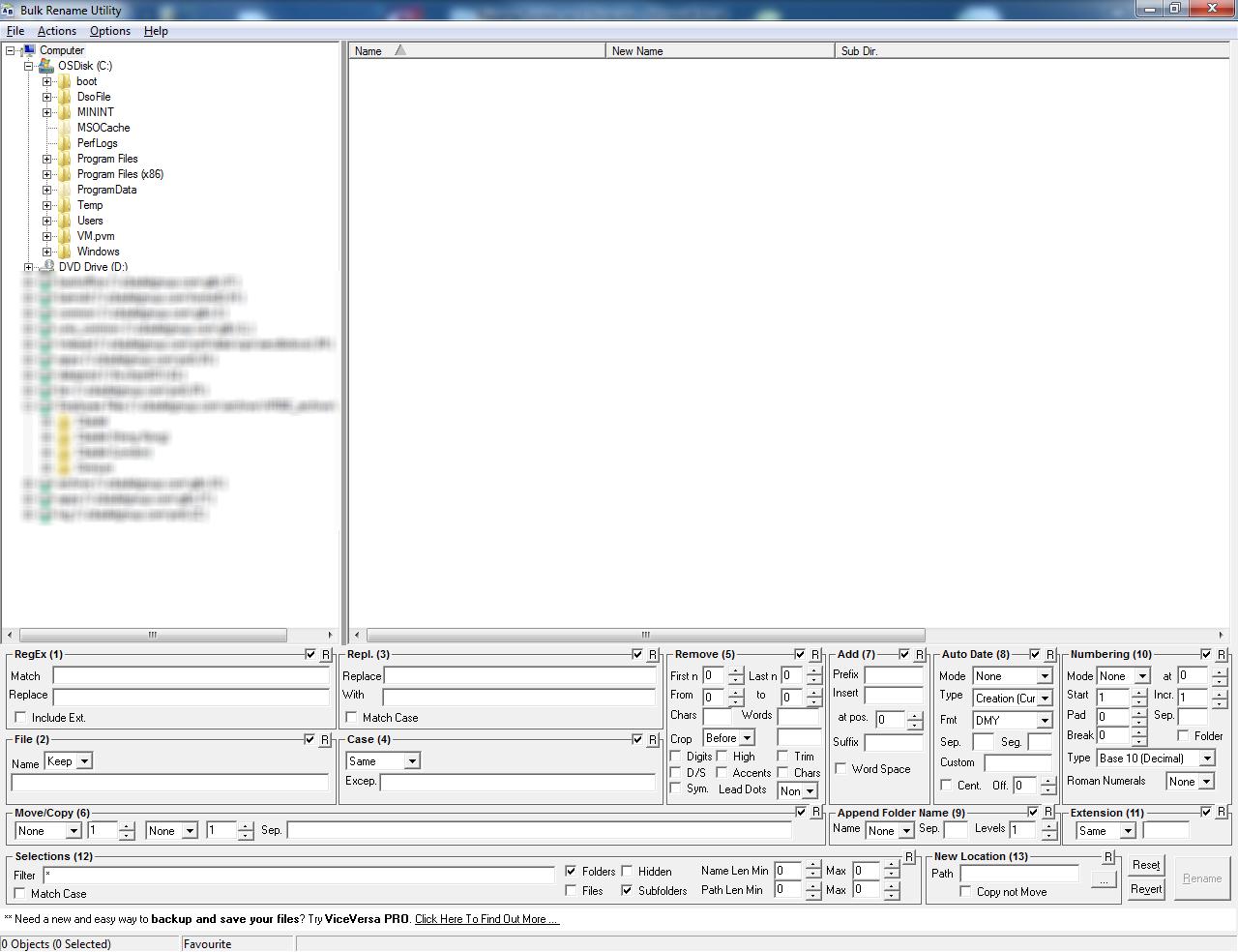 Bulk Rename Files & Folders